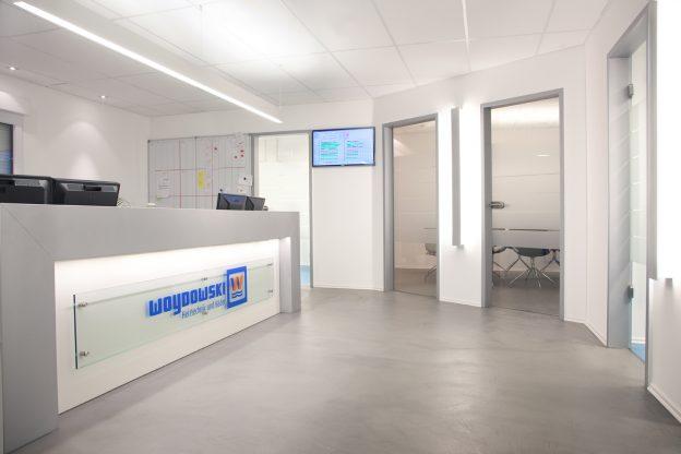 Büroräume/Neubau/Fa.Woydwoski/WC